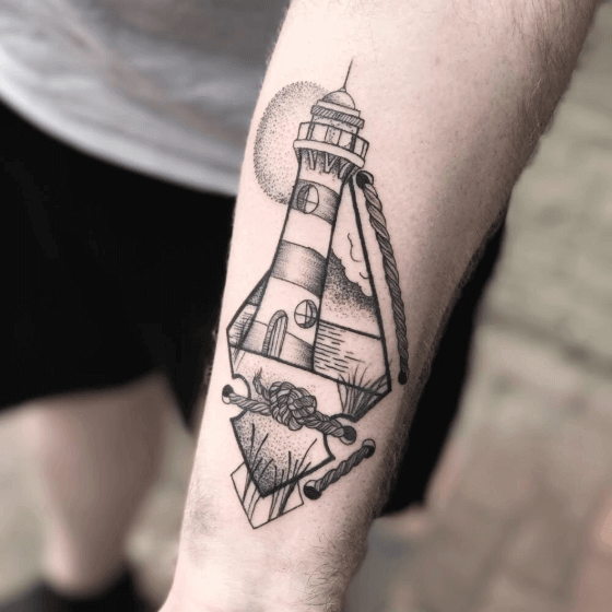 lighthouse tattoo meaning