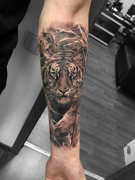 best sleeve tiger tattoo designs 2021
