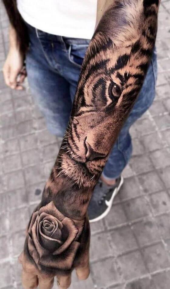 best women sleeve tattoo designs