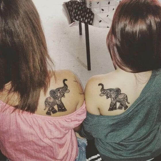 matching shoulder tattoo ideas
