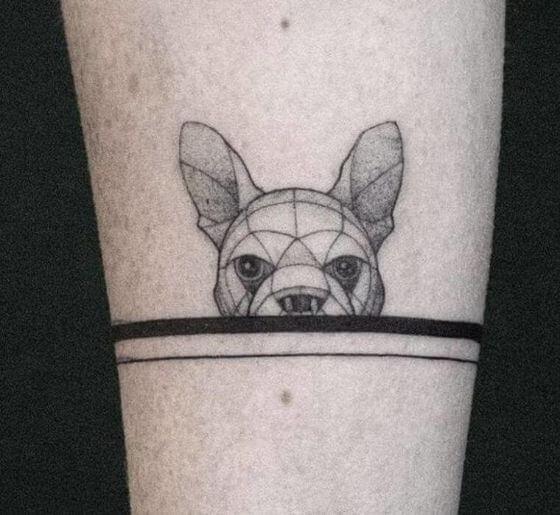 Best Origami Dog Tattoo ideas