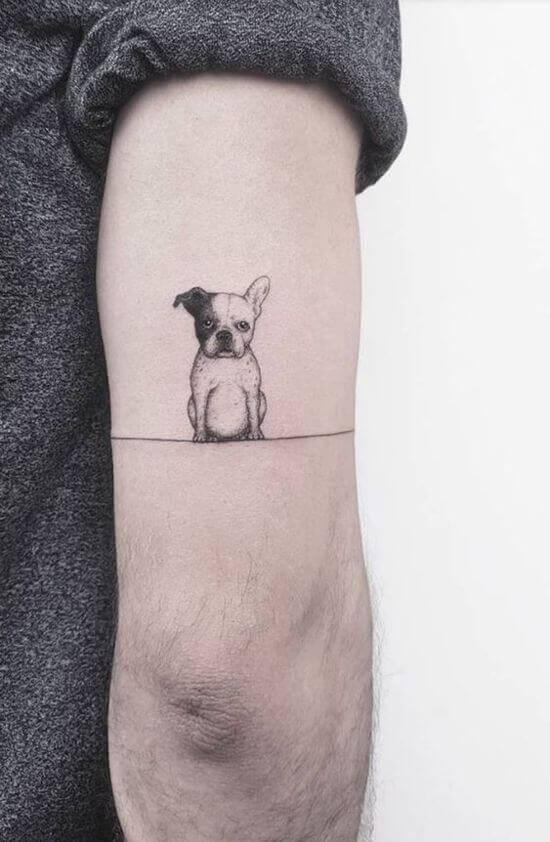 Dog Arm Tattoos For Men