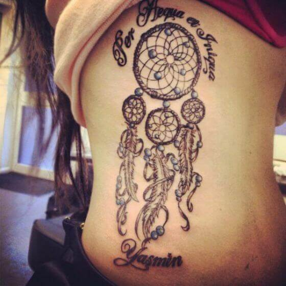 Dream Catcher Tattoo with Name 23
