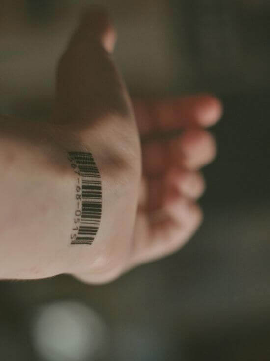 Num Small Wrist Tattoos on Men