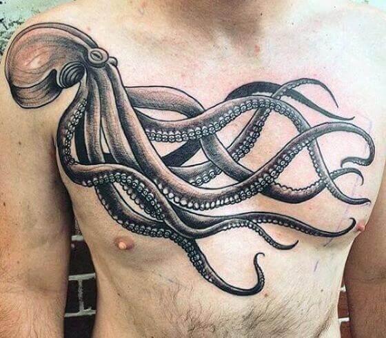 Chest Octopus Tattoo ideas (1) (1)
