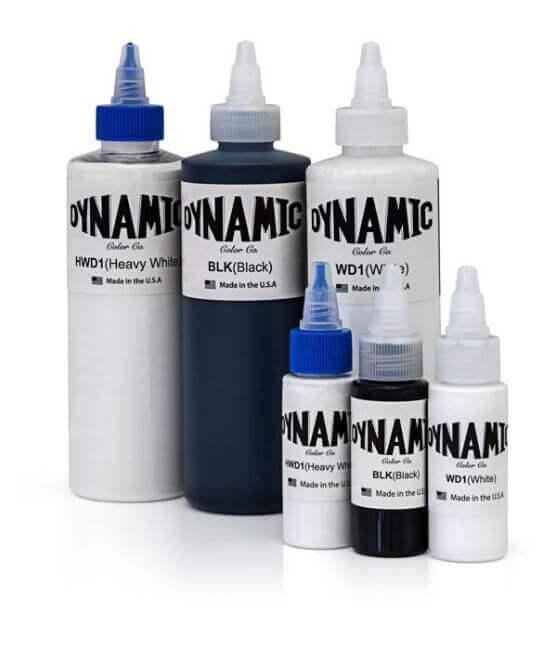 Dynamic Tattoo Ink