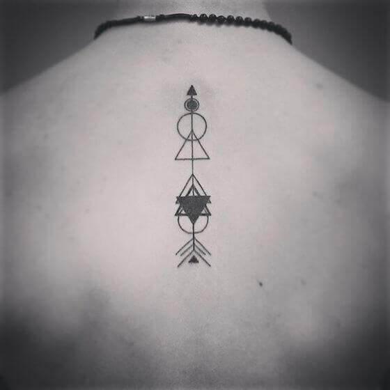Geometric Arrow Tattoo ideas