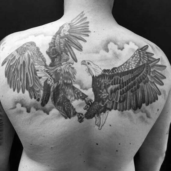 Two Eagles Tattoo