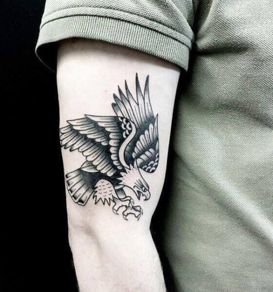 Eagle Tattoo on the arm