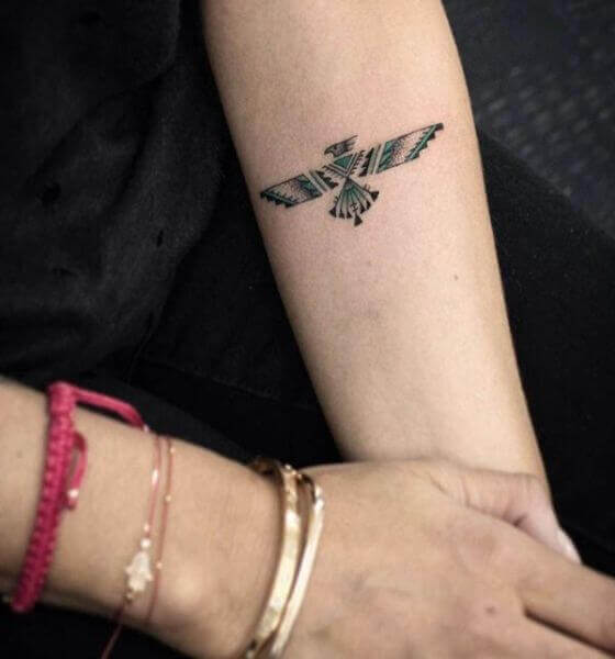 Best Eagle Tattoo on the forearm
