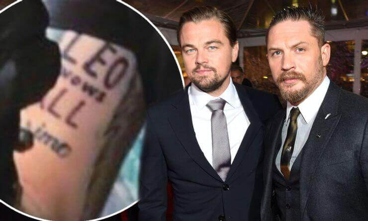 Edward Thomas Hardy -- Homage To Leonardo DiCaprio