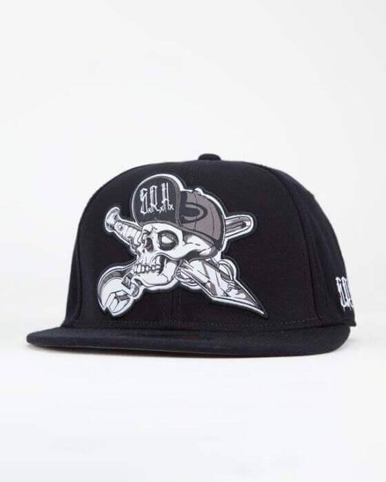 Tattoo Artist Black White Classic Cap Protect Cap