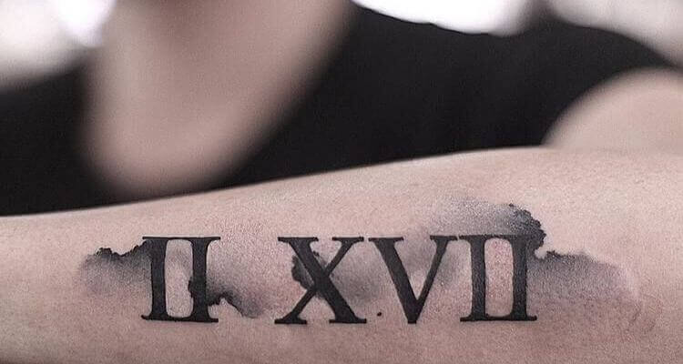 60 Best Roman Numerals Tattoo Ideas with Meaning