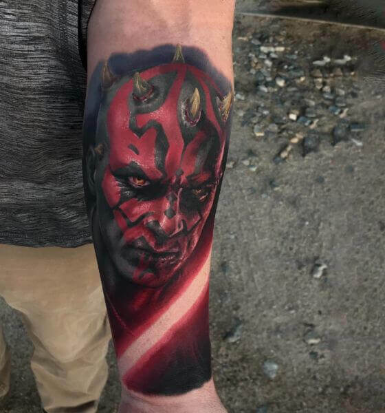 Devil Surrealism Tattoo