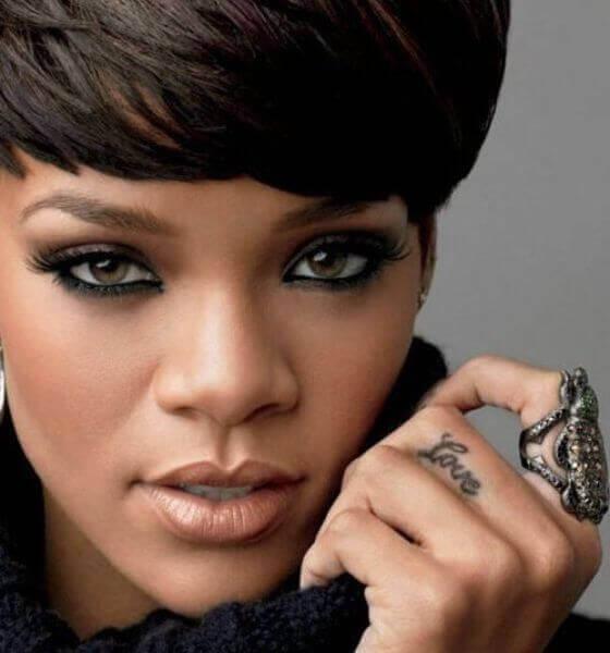 Love on her finger - Rihanna's tattoo