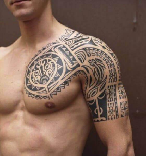 Popular Mexican Tribal Tattoo Designs