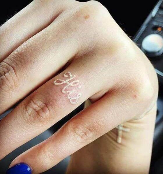 White ink tattoo ideas