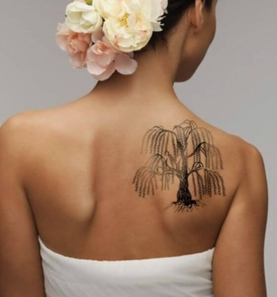 Willow Tree Quote Tattoo