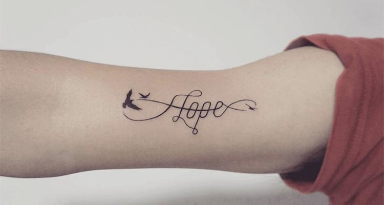 Beautiful Hope Tattoo Ideas
