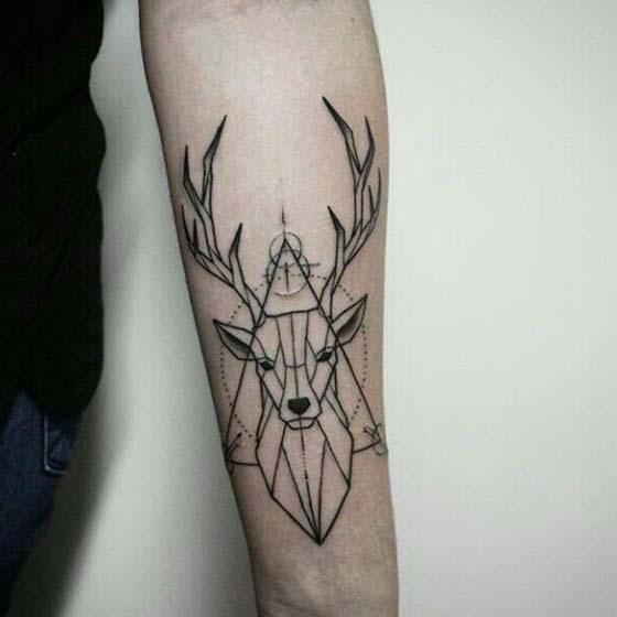 Meaningful Hope Deer Tattoo
