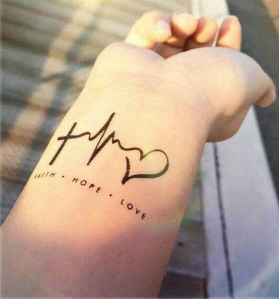 Faith. Hope. Love. Tattoo Designs