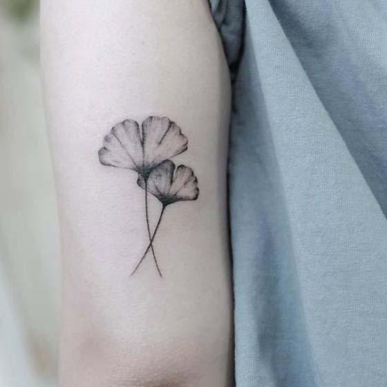 Ginkgo Tree Tattoo