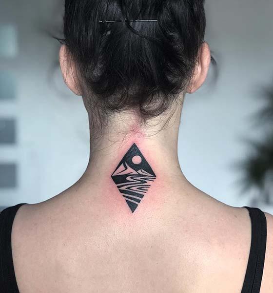 Landscape tattoo designs