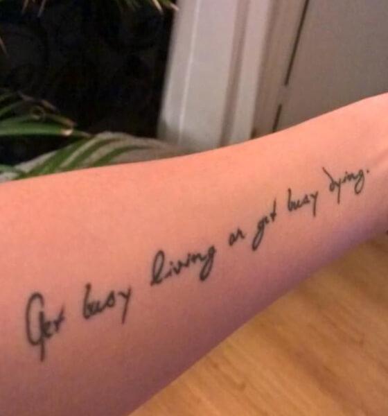 Motivational Quote Tattoo Ideas