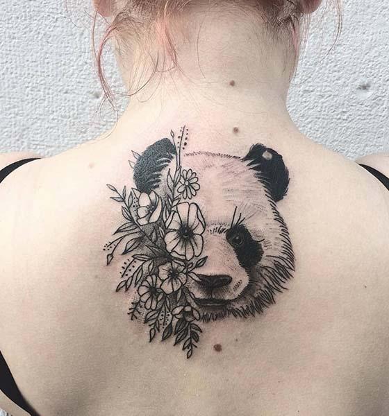 Panda Tattoo Designs for Women