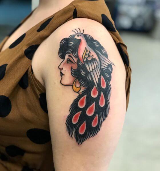 Peacock Tattoo Ideas for Women