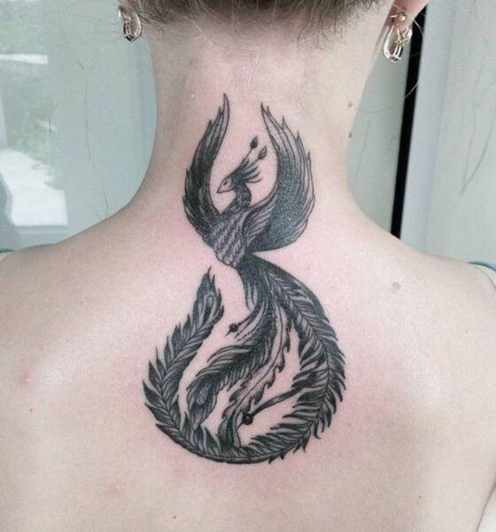 Phoenix Tattoo Design for Men
