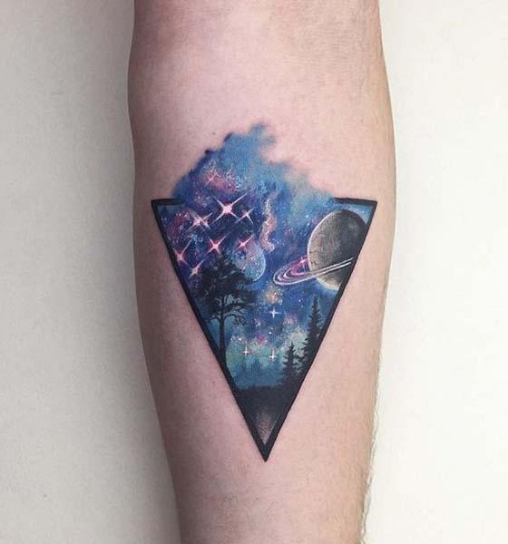 Planet tattoo ideas