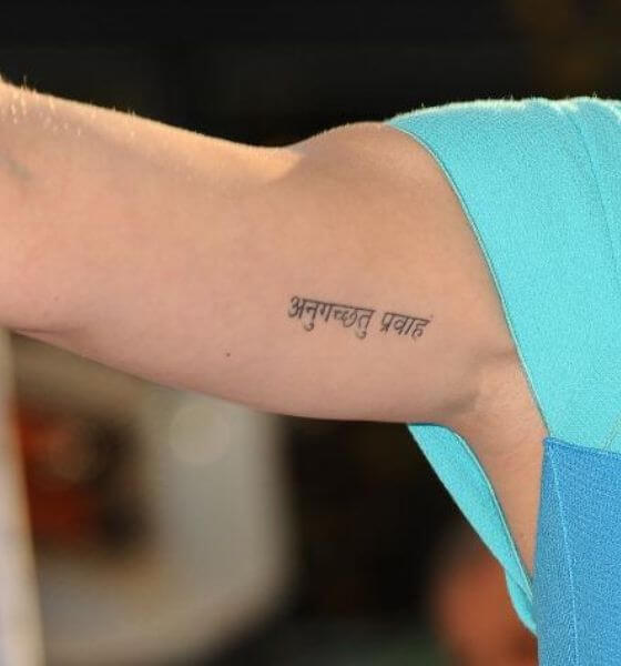 Sanskrit Quote Tattoo Ideas