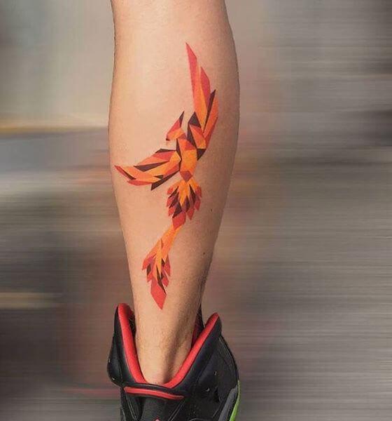 Stunning Phoenix Tattoo Design