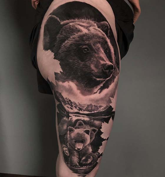 The Grizzly Bear Tattoo