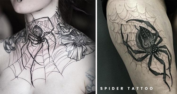 Best Spider Tattoo Designs