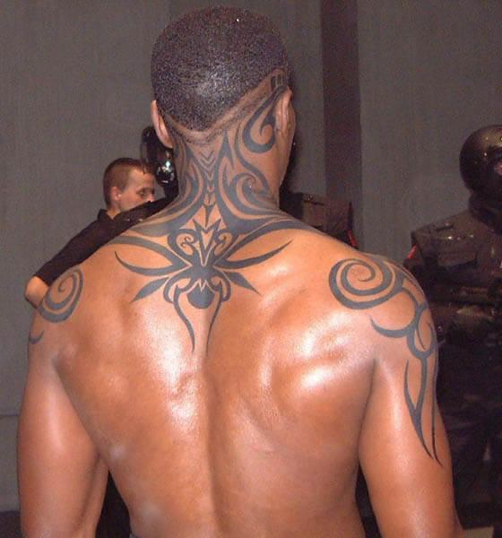 Blade Tattoo - Back Tattoo