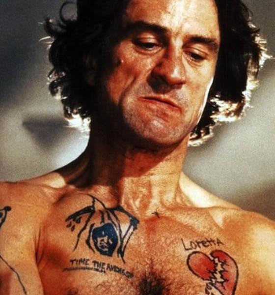 Cape Fear - Chest Tattoo - Movie Tattoo