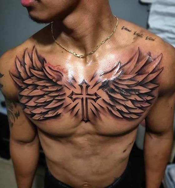 Chest Tattoo Idea for Men