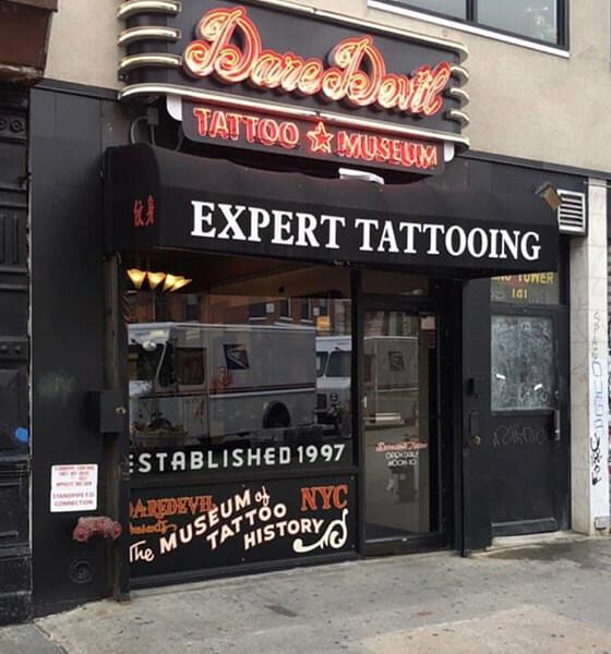 Daredevil Tattoo Shop - Best Tattoo Shop in NYC