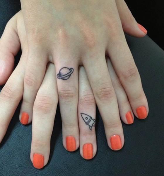 Fingers Tattoo Ideas