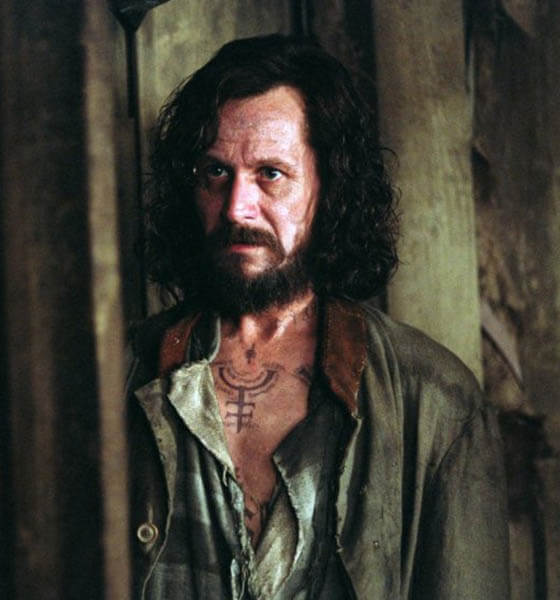 Sirius Black Tattoo - Harry Potter and the Prisoner of Azkaban