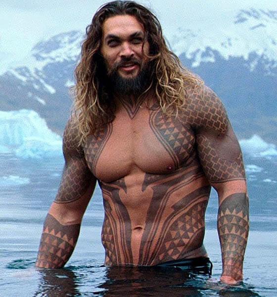 Justice League - Aquaman's tattoos