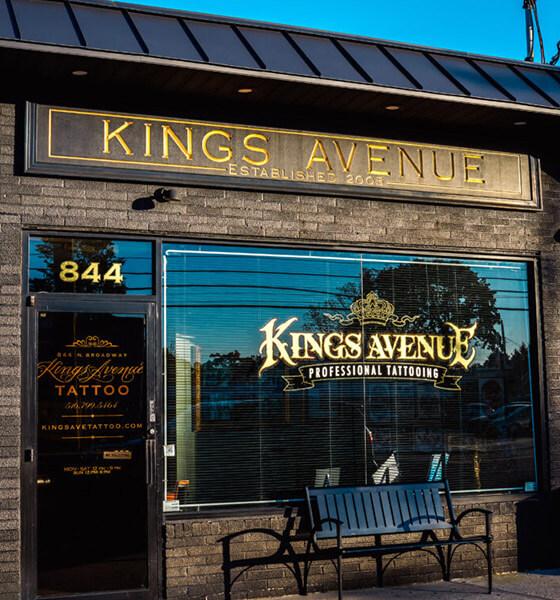 Kings Avenue Tattoo Shop in NYC