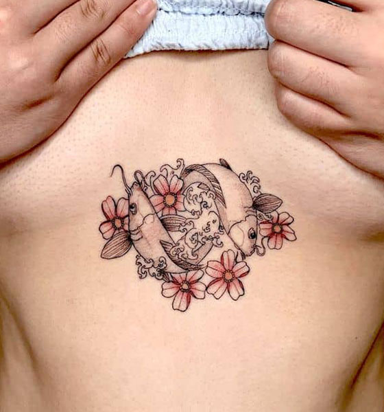 Pisces Tattoo idea