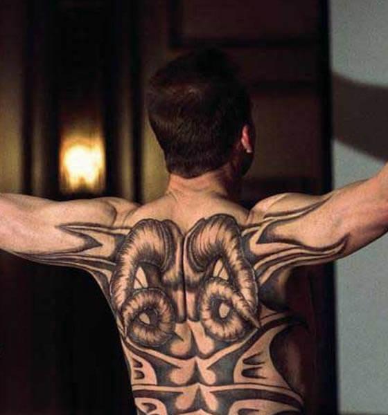 Red Dragon - Back Tattoo