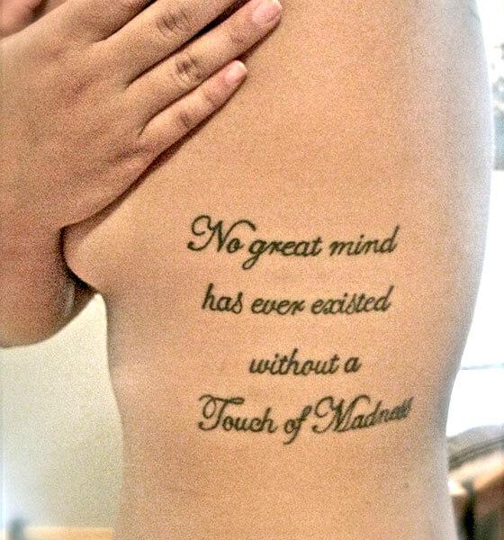 Religious Passage Tattoo
