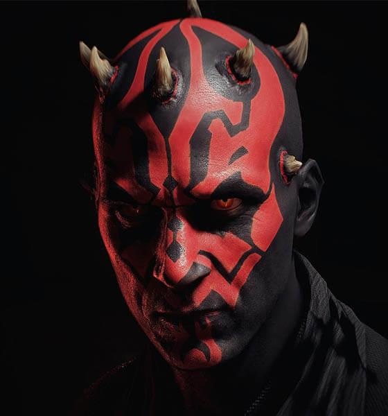 Star Wars - Tribal Face Tattoo