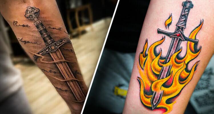 Sword Tattoo Designs - Symbol of Warriors