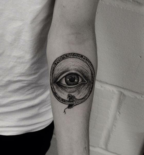 Amazing Eye Tattoo on Arm